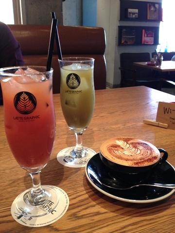オセアニアスタイルカフェ LATTE GRAPHIC