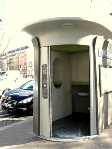 フランス滞在|フランスの公衆トイレはすごかった!