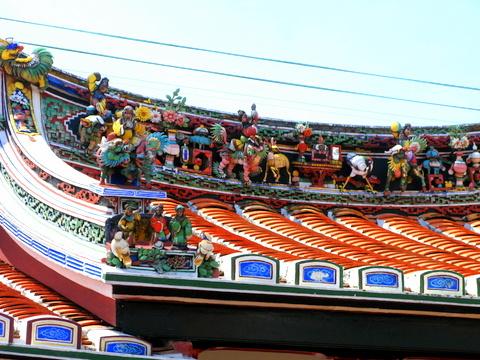 マラッカ最古の中国寺院、青雲亭寺院
